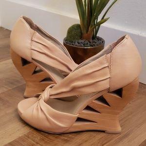 """Donald J. Pliner """"Becca"""" wedge heel"""
